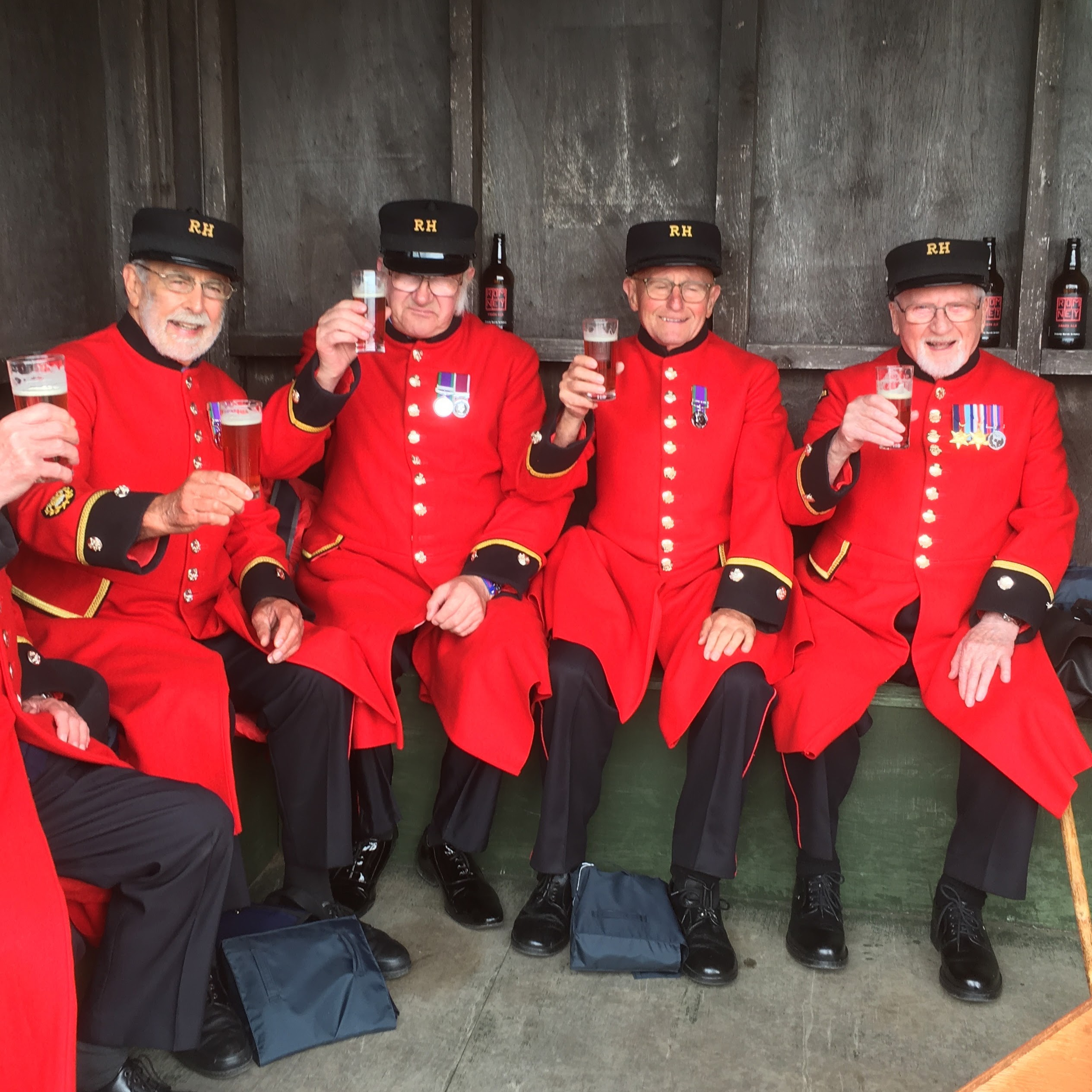 Chelsea Pensioners on the Romney