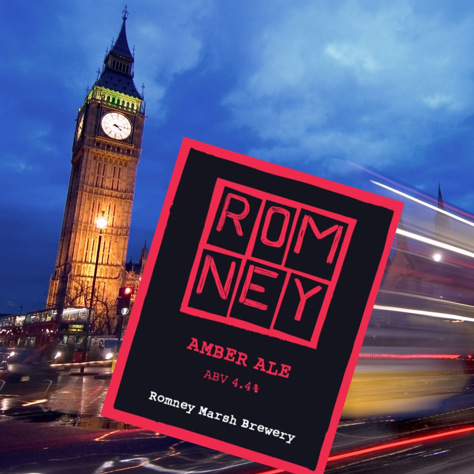 Romney Amber at the House of Commons